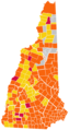 New Hampshire Republican Presidential Primary Election Results by Town, 2012.png