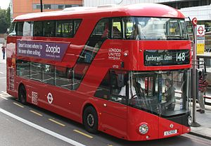 New Routemaster Route 148 to Camberwell (cropped).jpg