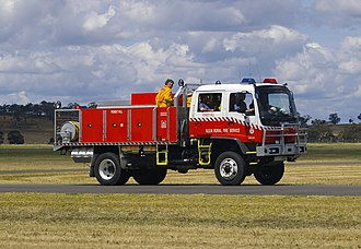 New South Wales Rural Fire Service - RFS Category 1 tanker
