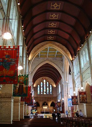 Christ Church Cathedral, Newcastle - Cathedral interior