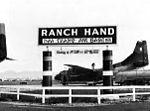 Nha Trang Air Base Ranch Hand sign with C-123B.jpg