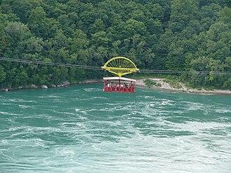 Whirlpool Aero Car - Image: Niagara Whirlpool with aerocar