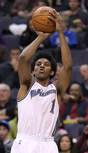 Nick Young (basketball) - Young with Washington in 2011