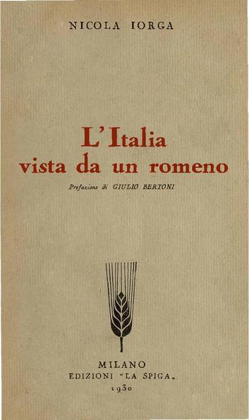 File:Nicolae Iorga - L'Italia vista de un romeno.pdf