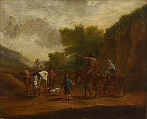Peasants on the road