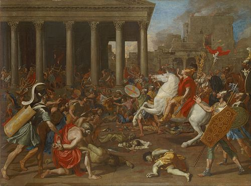 Nicolas Poussin - The Conquest of Jerusalem by Emperor Titus - Google Art Project.jpg