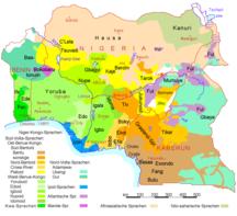 Camerun-Lingue-Nigeria Benin Kamerun Sprachen