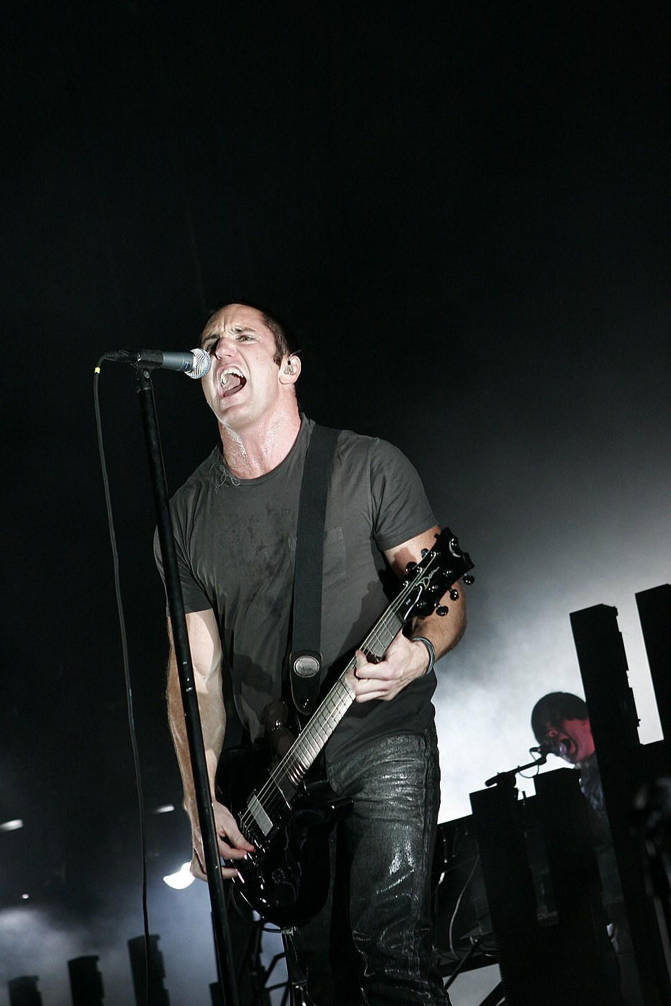 Nine Inch Nails at Voodoo 2005