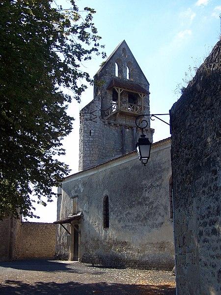 Church of Noaillan (Gironde, France)