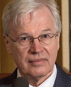 Bengt Holmström - Bengt Holmström at Nobel prize press conference in Stockholm, Sweden, December 2016