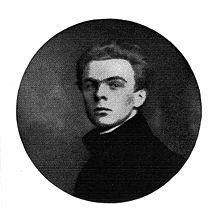 Norbert von Hellingrath, Herausgeber einer Hölderlin-Werkausgabe, deren BandI im Jahr 1913 ediert wurde (Quelle: Wikimedia)