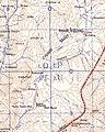 Norbu Tsokyi Mint, Tawa Dzong, Katom La, Gochak La and Khungdugang detail, from- Map of Tibet, Phari Dzong and Chumbi Valley, Tibet in 1963, from- India and Pakistan 1 250,000 Phari Dzong (cropped) (cropped).jpg