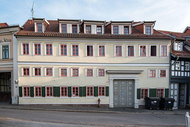 Datei:Nordhausen, Bäckerstraße 19 20170510 001.jpg