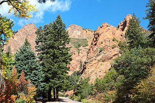 North Cheyenne Cañon Park United States historic place
