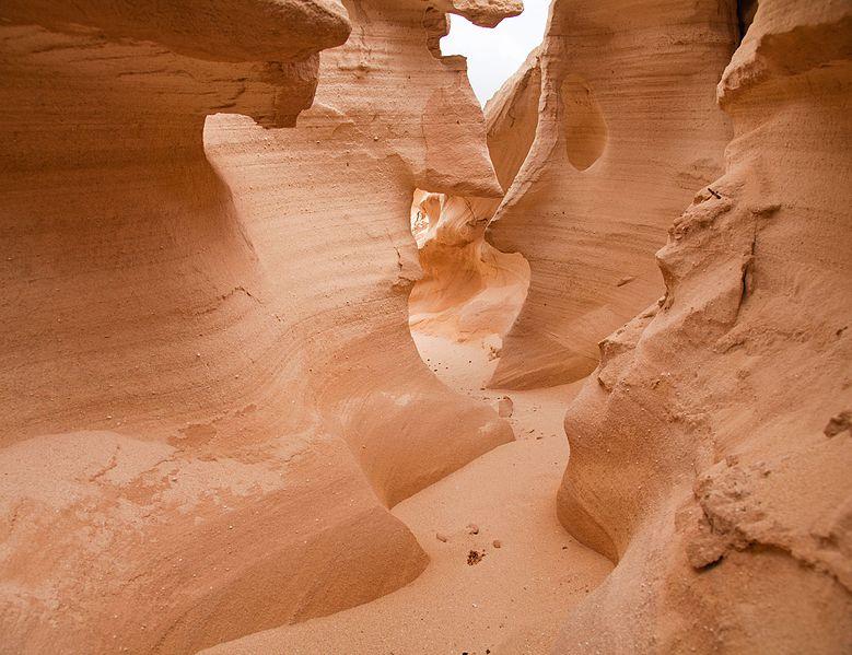 File:Northern Inland Fuerteventura, ravine barranco de los Enamorados around Lajares.jpg
