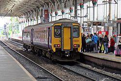 Northern Rail Class 156, 156491, Preston railway station (geograph 4499550).jpg