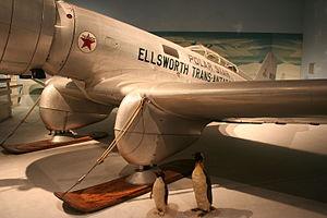 Northrop Gamma - Image: Northrop Gamma Left