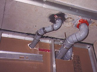 Drain (plumbing) - Pipes coming from drains