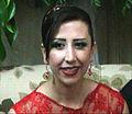 Noura Ghazi el 20 de octubre de 2011.jpg