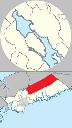 Map of Musquodoboit Valley/Dutch Settlement planning area in Halifax, Nova Scotia