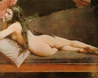 Nude woman in colored daguerreotype by Félix-Jacques Moulin.jpg