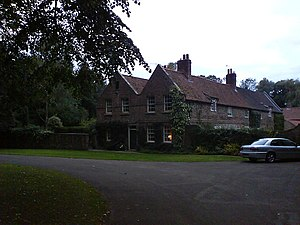 Nun Monkton - 18th century cottage in Priory grounds