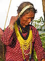 Nyishi woman in Lelung village, Arunachal Pradesh, India.JPG
