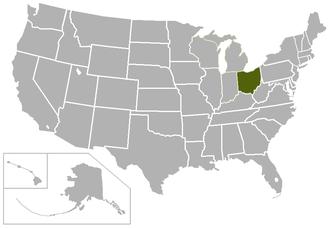 Ohio Athletic Conference - Image: OAC USA states