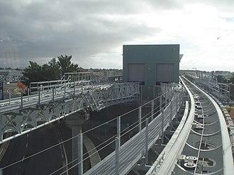 Coliseum–Oakland International Airport line - Doolittle Maintenance and Storage Facility