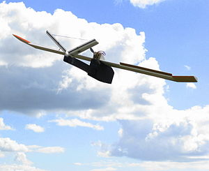 Observer South African UAV in flight