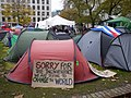 Occupy London - Finsbury Square tents.jpg
