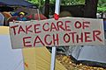 Occupy Portland, October 21 take care.jpg