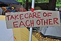 Occupy Portland, October 21 take care.jpg