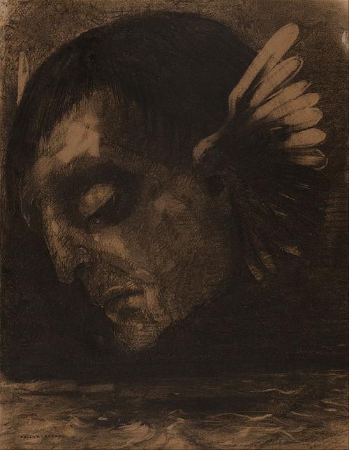 REDON Odilon  Tears 1878