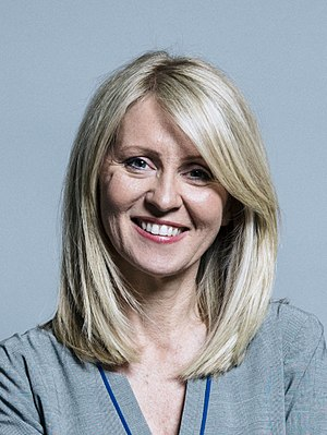 Esther McVey - Image: Official portrait of Esther Mc Vey crop 2