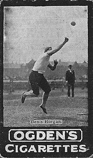 Denis Horgan Irish shot putter