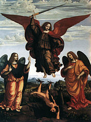 Altarpiece of the three archangels