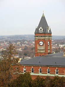 O'Kane Hall du campus du College of the Holy Cross.