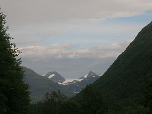 Okstindan - Okstindan, Nordland, Norway