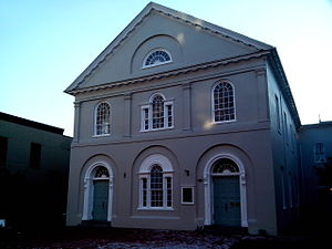 Frederick, Maryland - All Saints Church, erected 1813, Principal Parish Church until 1855
