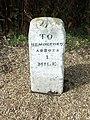 Old Milestone - geograph.org.uk - 1461085.jpg