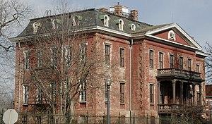Old Naval Hospital - Before restoration in 2008.