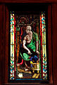 Old Philosopher Stained Glass Window by LaFarge, Crane Library.jpg