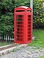 Old red phone box - geograph.org.uk - 903506.jpg