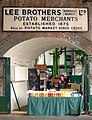 Old sign, modern drink, Borough market in south London - geograph.org.uk - 1522126.jpg