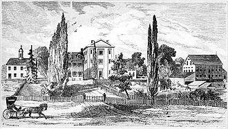 Villanova University - Villanova College in 1849