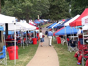 The Grove (Ole Miss) - Image: Ole Miss The Grove
