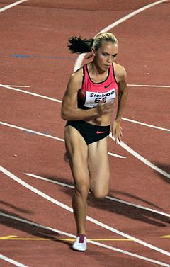 Olga Lenskiy - Athletics Night Competition 29-07-2013.JPG