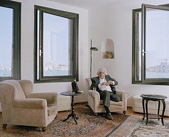 Gaston Salvatore - Gaston Salvatore, Venice 2010, photo by Oliver Mark