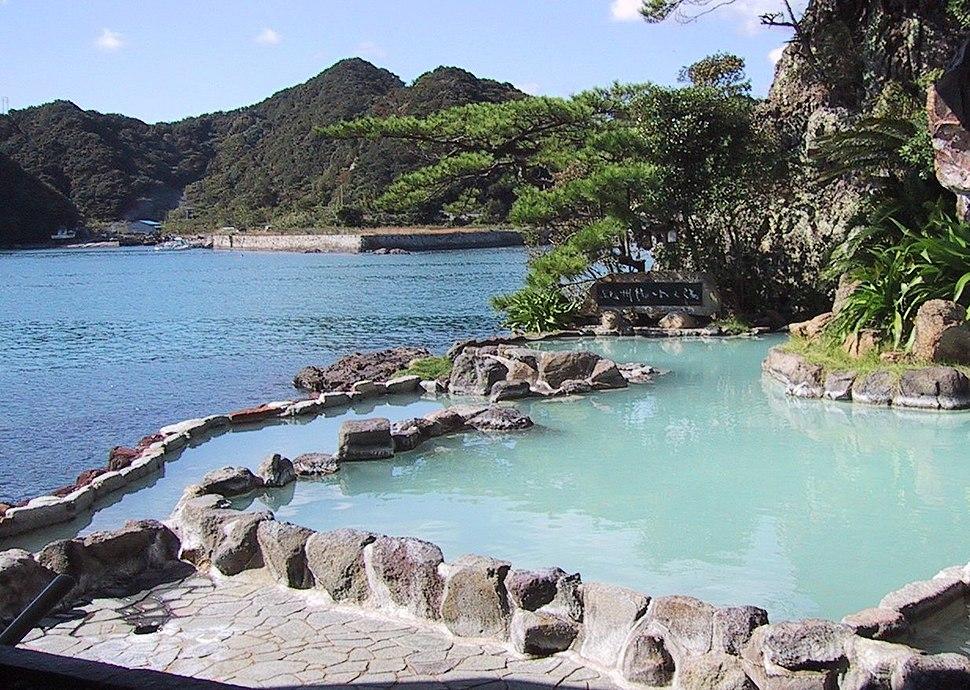 Onsen in Nachikatsuura, Japan